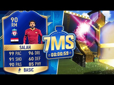 🔥 TOTS SALAH (LIVERPOOL) 7 MINUTE SQUAD BUILDER! - FIFA 17 ULTIMATE TEAM