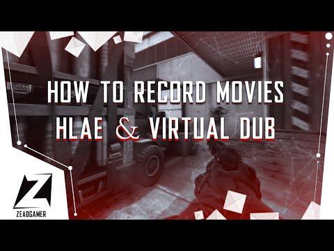 КАК ЗАПИСЫВАТЬ МУВИКИ СКРИНШОТАМИ В CS:GO   HLAE & Virtual Dub