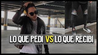 LO QUE PEDI VS LO QUE RECIBI (Suit, biker jaket, jeans rotos, caja para lentes, etc.)   JR Style