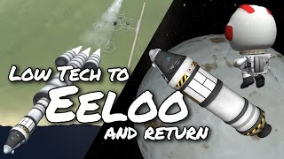KSP Eeloo and Back with Budget Low Technology (Tutorial:47) Kerbal Space Program 1.2 - Stock Parts