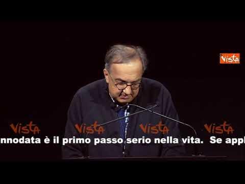 Le parole di Sergio Marchionne alla sua ultima conferenza