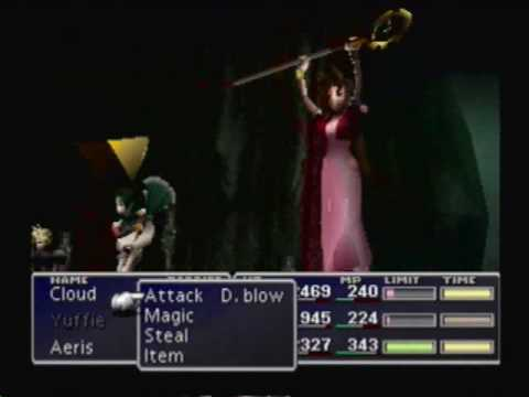 Final Fantasy VII - Limit Breaks: Aeris Gainsborough
