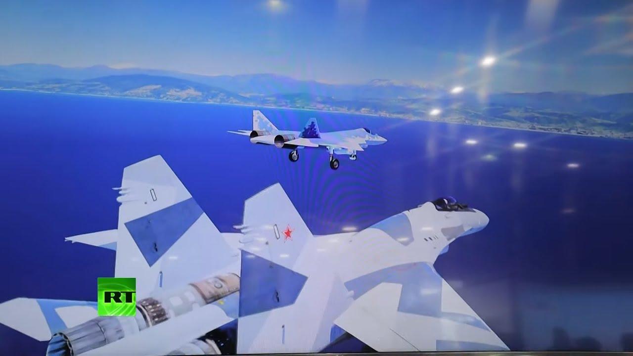 Download Toys for big boys | Su-57 & Su-35 fighter jets VR