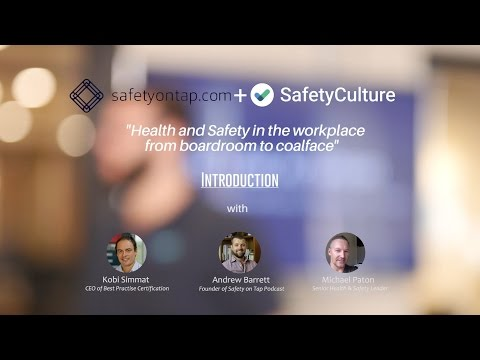 SafetyCulture speaker series - Safety on Tap session