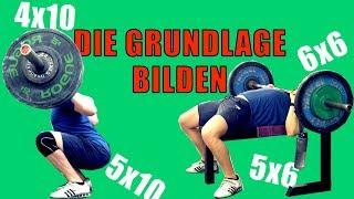 BACK TO VOLUME | DEN GRUNDSTEIN FÜR NEUE GAINS LEGEN |Trainingslog