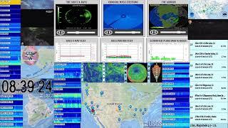 Live Hurricane, Earthquake, Volcano, Solar monitoring USA USGS IRIS Swarm Data