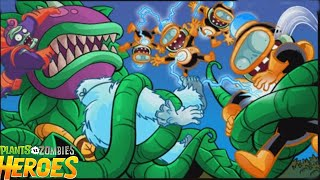 Plants vs. Zombies Heroes: Final Boss Chompzilla - Zombie Mission 3