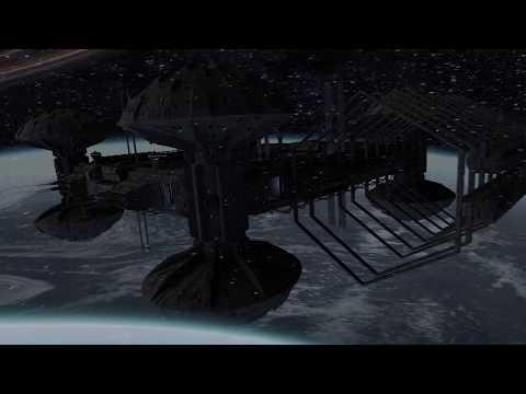 Spaceships sci fi animation by Shaun Williams (HD)
