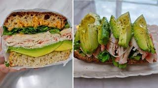 [1분완성] 아보카도 크래미 샌드위치 만들기 Make …