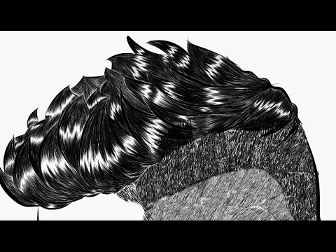 Adobe Draw | Boy Hair Tutorial - Zayn Malik
