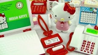 Re-ment Sanrio Hello Kitty Ol Life Complete Set Unboxing リーメント ハローキティ Olライフ