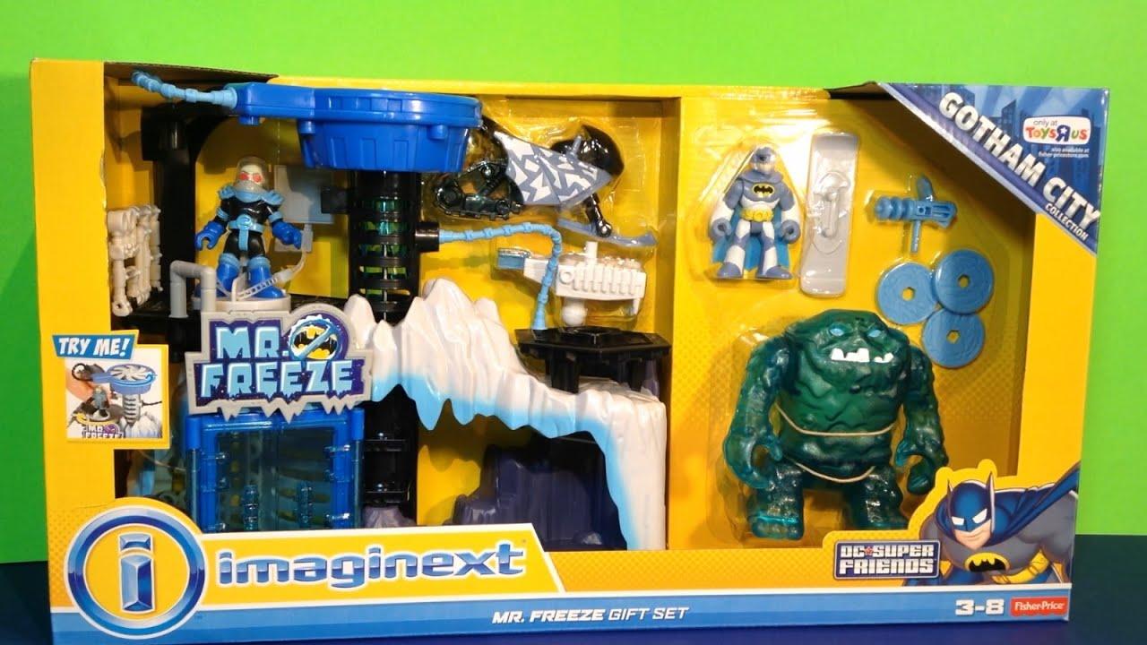 Imaginext Mr. Freeze Gift Set with Batman figure, Ice Monster, Mr ...