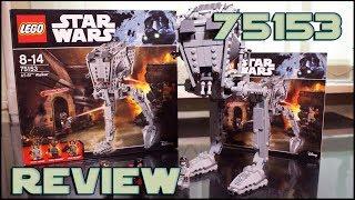 Lego Star Wars 75153 AT-ST Walker Review | Обзор на Лего Звёздные Войны 75153 Шагоход AT-ST