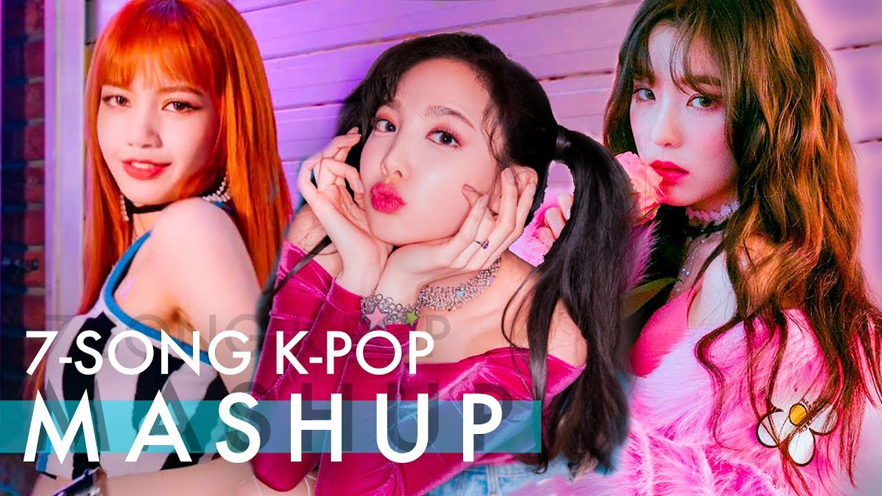 TWICE x RED VELVET (feat  BLACKPINK) – What Is Love/Ice Cream Cake/So Hot  (And More) 7-Song MASHUP