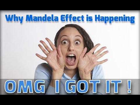 Why Mandela Effect is Happening a complete theory of the Phenomenon