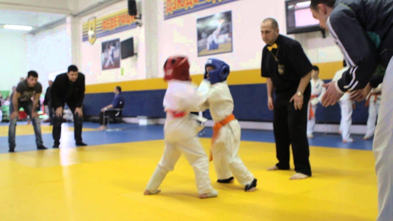 каратэ  киокушинкай  дети 5 лет соревнование