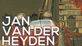 Jan van der Heyden: A collection of 81 paintings (HD)