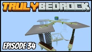 Mob Farm Is Finished! I Also Got Pranked! - Truly Bedrock (Minecraft Survival Let's Play) Episode 34