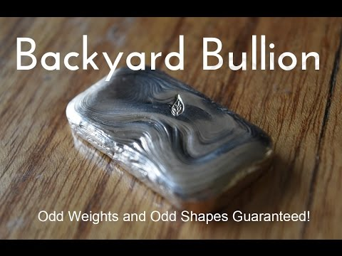 Backyard Bullion Live Stream - Stacking, pouring and ITS NEARLY CHRISTMAS!!!!