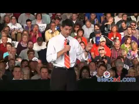 Paul Ryan Town Hall in Lima Ohio - September 24 2012