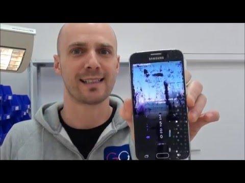 Samsung Galaxy S6 SM-G920 Display Austausch Glas Tausch Reparatur disassembly