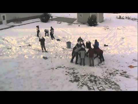 Cedar Ridge Academy - Creation of a Snowman