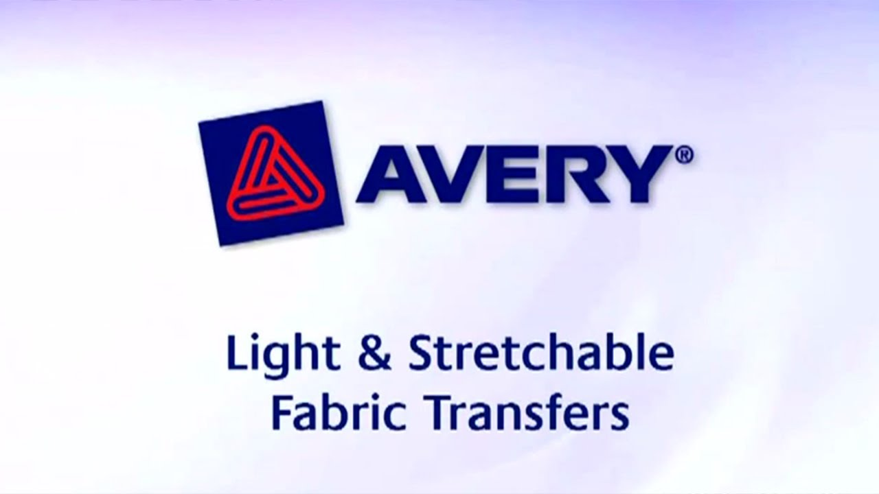 Design t shirt transfer template - Avery Personal Creations Inkjet T Shirt Transfer