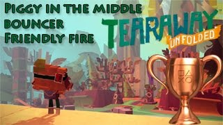 Tearaway™ Unfolded Piggy in the middle, Bouncer & friendly fire