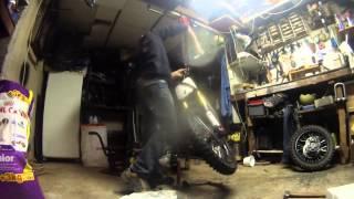 montage du moteur 160 yx timlapse