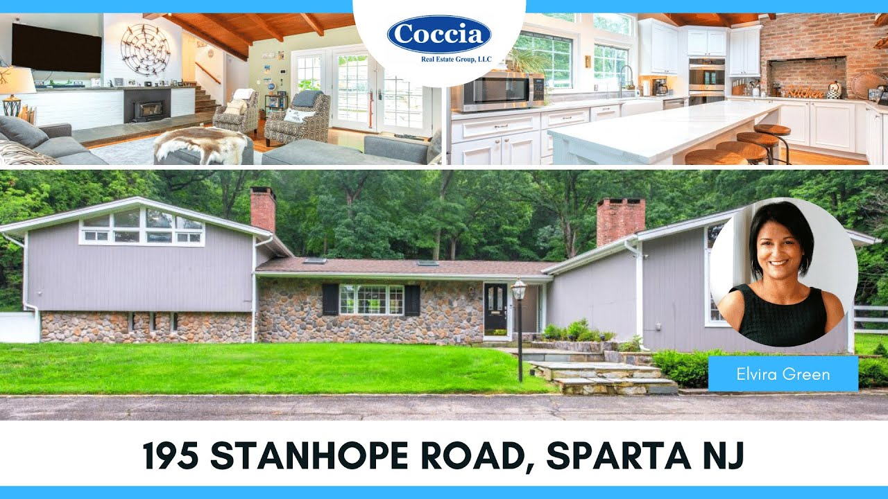 195 Stanhope Road   Homes for Sale Sparta NJ   Sussex County
