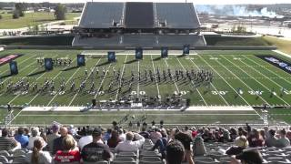 Tomball Memorial High School Band 2015 - UIL 5A Area F Marching Contest
