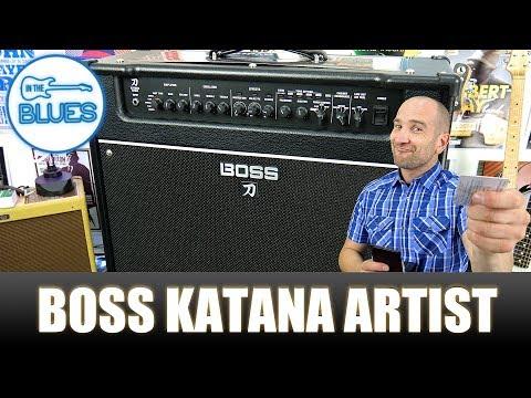 The BOSS Katana Artist Amplifier Review (2018)