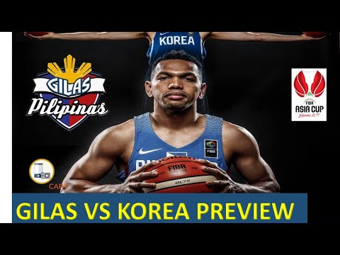 Gilas Preview Korea vs Philippines Jones Cup Game Highlights