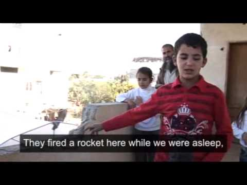 Child's eye- One year on with the children of Gaza