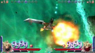 DDFF: Cloud Strife vs. Cloud Strife (CotC, Double Kill)