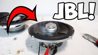 BLOWING JBL CAR SPEAKERS WITH 2800W!