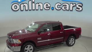 A98962TA Used 2017 Ram  Crew Cab Red Test Drive, Review, For Sale