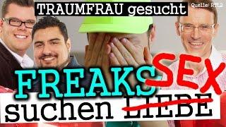Walther, Elvis, Dennis: Freak-Parade bei Traumfrau gesucht (RTL 2)