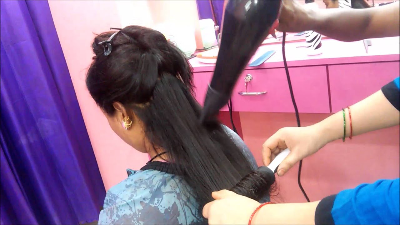 step cutting for long hair at home