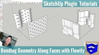 Video Bending Objects Along Complex Faces with Flowify for SketchUp - SketchUp Extension Tutorials download MP3, 3GP, MP4, WEBM, AVI, FLV Desember 2017