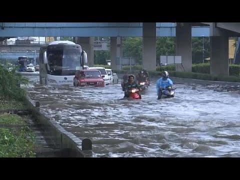 Bangkok Hit By Flash Floods
