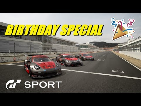 GT Sport Birthday Special With Some Alien Drivers thumbnail