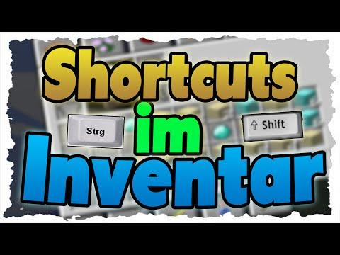 Die 5 BESTEN SHORTCUTS im Inventar - Tutorial - Automatische Sortierung & Schneller craften
