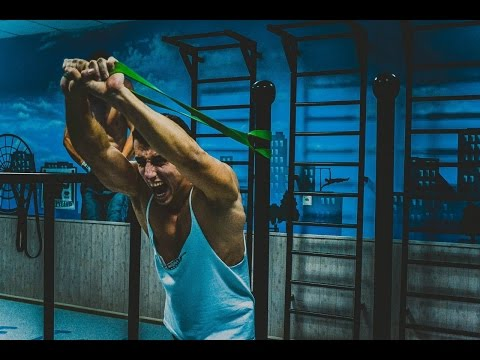 Иван Крыленко. Street Workout тренировка с резиновыми петлями Way4you