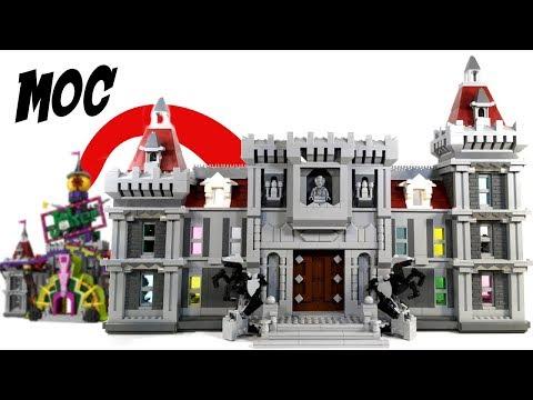 LEGO Wayne Manor MOC - 70922 Joker Manor Rebuild