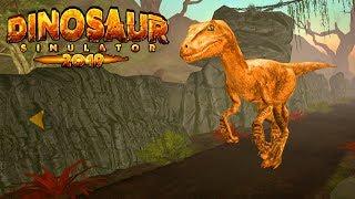 СИМУЛЯТОР ДИНОЗАВРА 2019! Динозавры разрушают город и охотятся за ЖИВОТНЫМИ! Прохождение игры #1
