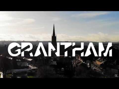 Grantham & surroundings in 4k