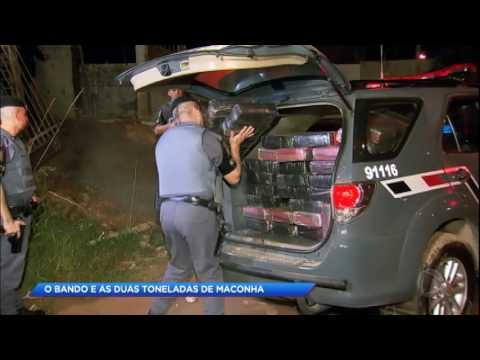 Polícia prende bandidos com duas toneladas de maconha