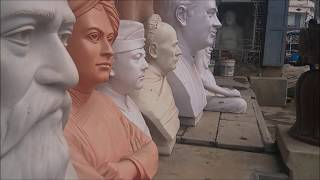 Step-by-step Mold making tutorial for clay art ( Sculptures )