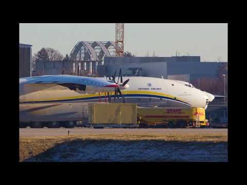 Überflug Sound Antonov 22 über Leipzig